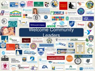 Welcome Community Leaders