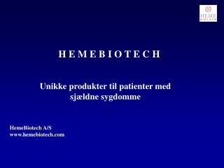 HemeBiotech A/S hemebiotech