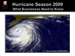 Hurricane Season 2009  What Businesses Need to Know