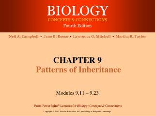 CHAPTER 9 Patterns of Inheritance