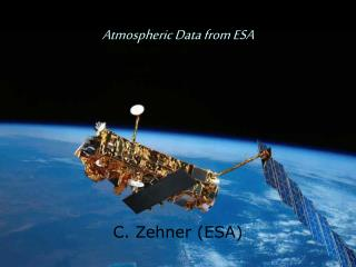 Atmospheric Data from ESA