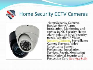 Home Security CCTV Cameras