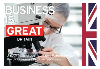 Unlock Your Global Business Potential: The UK Laboratory Medicine opportunity