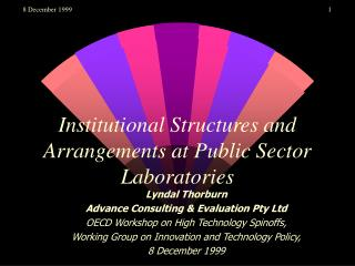 Institutional Structures and Arrangements at Public Sector Laboratories