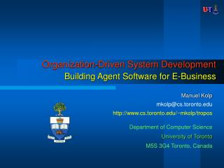Organization-Driven System Development