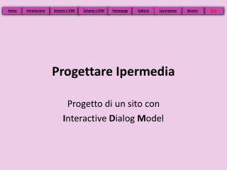 Progettare Ipermedia