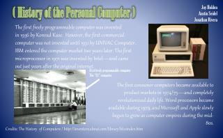 ( History of the Personal Computer )
