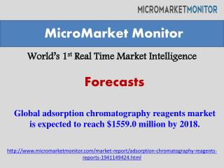 The global adsorption chromatography reagents market is expe