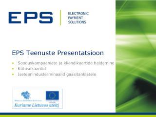 EPS  Teenuste Presentatsioon