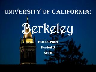 University of California: