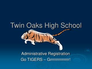 Twin Oaks High School