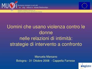 Manuela Marsano Bologna - 31 Ottobre 2008  - Cappella Farnese
