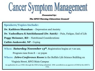 A guide to oncology symptom management (eBook, 2010 ...