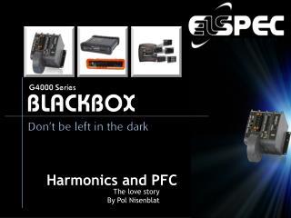 Harmonics and PFC