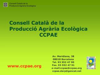 Consell Català de la Producció Agrària Ecològica