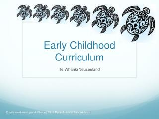 Early  Childhood C urriculum