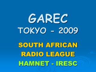 GAREC  TOKYO - 2009