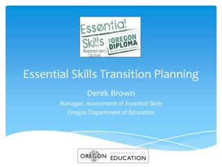 Essential Skills Transition Planning