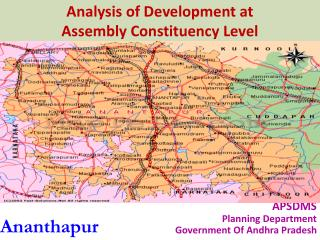 Analysis of Development at  Assembly Constituency Level