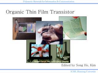 Organic Thin Film Transistor