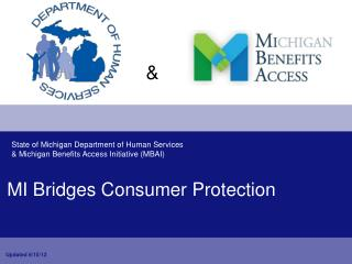 MI Bridges Consumer Protection