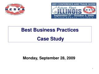 Best Business Practices  Case Study