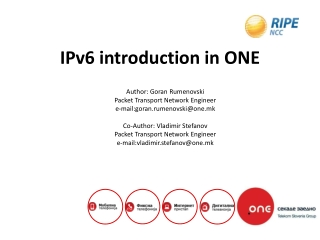 Impact of IPv6 on Applications and Services