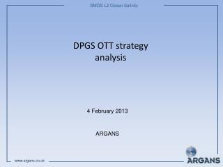 DPGS OTT strategy analysis