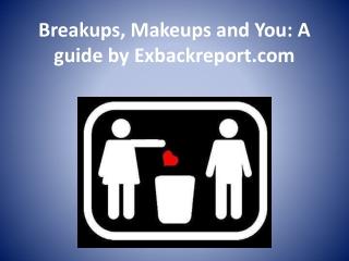 breakup and makeup