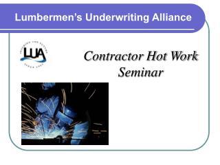 Lumbermen�s Underwriting Alliance