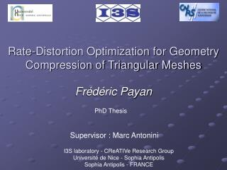 Rate-Distortion Optimization for Geometry Compression of Triangular Meshes