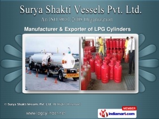 LPG Cylinders,  Transport Services