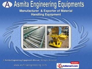 suppliers of a wide range of Material Handling Equipment.