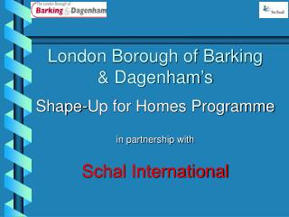 London Borough of Barking & Dagenham's