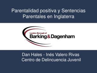 Parentalidad positiva y Sentencias Parentales en Inglaterra