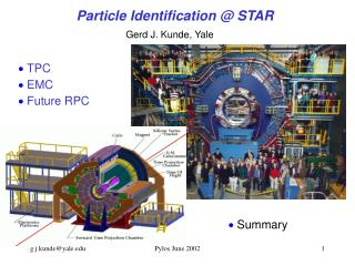 Particle Identification @ STAR