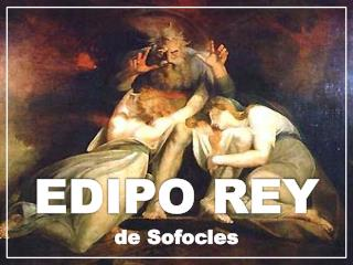EDIPO REY de  Sofocles