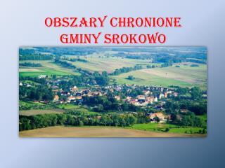 OBSZARY CHRONIONE  GMINY SROKOWO