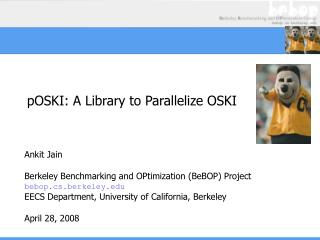 pOSKI: A Library to Parallelize OSKI