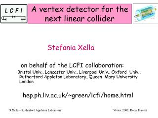 A vertex detector for the next linear collider