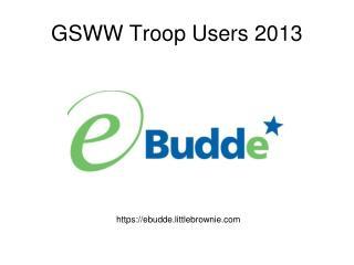 GSWW Troop Users 2013