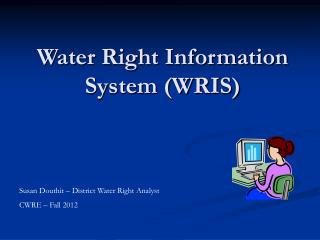 Water Right Information System (WRIS)