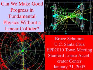 Can We Make Good Progress in Fundamental Physics Without a Linear Collider?