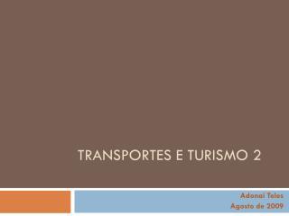 Transportes e turismo 2