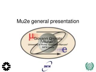Mu2e general presentation