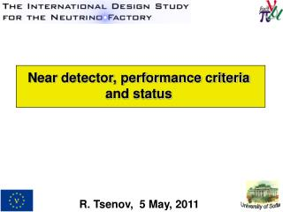Near detector, performance criteria  and status