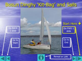 Bosun Dinghy �Kit-Bag� and Sails