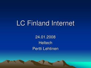 LC Finland Internet