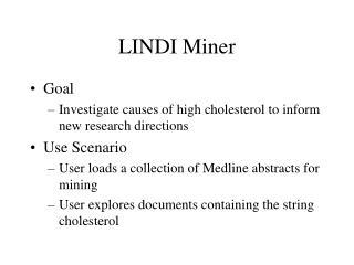 LINDI Miner