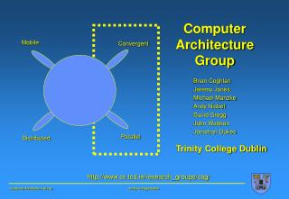 Computer Architecture Group